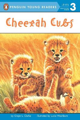 Cheetah Cubs by Ginjer L. Clarke
