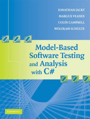 Model-Based Software Testing and Analysis with C# book