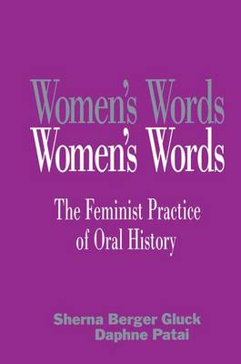 Women's Words book