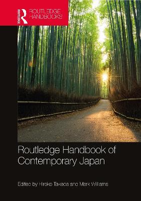 Routledge Handbook of Contemporary Japan book