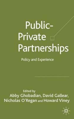 Private-Public Partnerships book