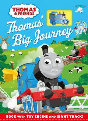 Thomas & Friends: Thomas' Big Journey: Book with toy engine and giant track! by Egmont Publishing UK