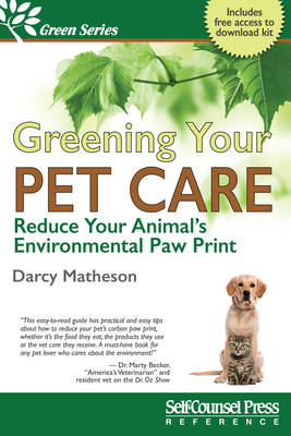 Greening Your Pet Care by Darcy Matheson