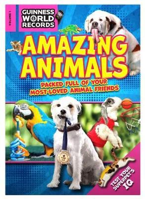 Guinness World Records 2018 Amazing Animals book