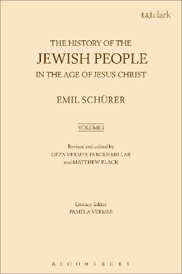 The History of the Jewish People in the Age of Jesus Christ: Volume 1 by Emil Schurer