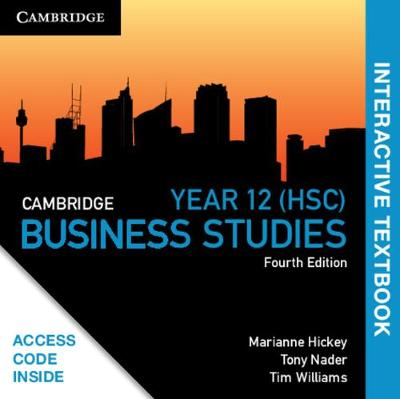 Cambridge HSC Business Studies Digital (Card) by Marianne Hickey