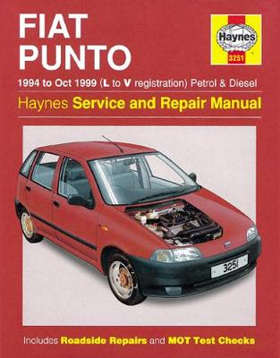 Fiat Punto (1994-1999) Service and Repair Manual by Haynes Publishing