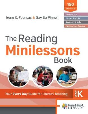 The Reading Minilessons Book, Grade K by Irene, C. Fountas