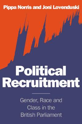 Political Recruitment book