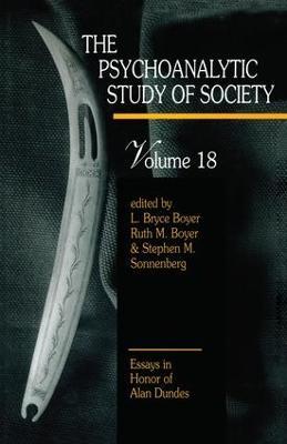 Psychoanalytic Study of Society by Dr. Stephen M. Sonnenberg