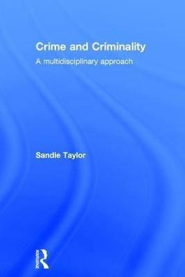 Crime and Criminality book