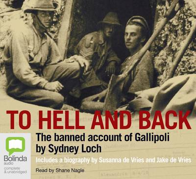 To Hell And Back by Susanna de Vries