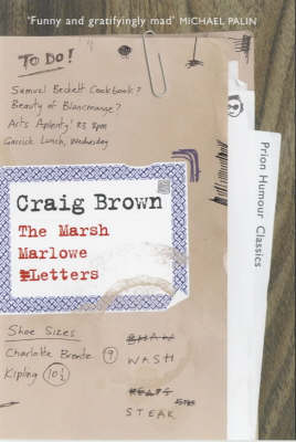 The Marsh-Marlowe Letters by Craig Brown
