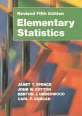 Elementary Statistics by Janet Taylor Spence