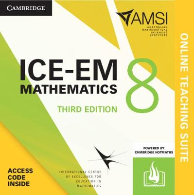 ICE-EM Mathematics Year 8 Online Teaching Suite (Card) by Peter Brown