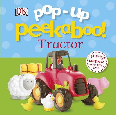 Pop-Up Peekaboo! Tractor book