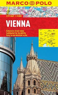 Vienna City Map by Marco Polo