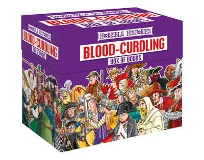 Blood-curdling Box of Books by Terry Deary