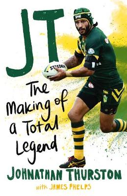 JT: The Making of a Total Legend book