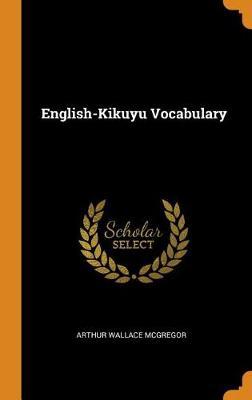 English-Kikuyu Vocabulary book