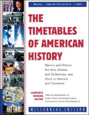 Timetables of American History by Laurence Urdang