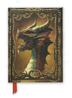 Beyit: Red Dragon (Foiled Journal) by Flame Tree Studio