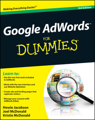 Google Adwords for Dummies (R), 3rd Edition book