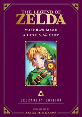Legend of Zelda: Majora's Mask / A Link to the Past -Legendary Edition- by Akira Himekawa