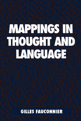 Mappings in Thought and Language by Gilles Fauconnier
