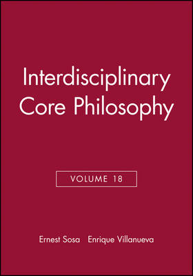 Interdisciplinary Core Philosophy by Ernest Sosa