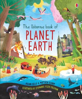The Usborne Book of Planet Earth by Megan Cullis