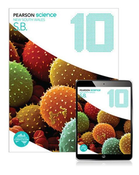 Pearson Science New South Wales 10 Student Book with eBook by Greg Rickard