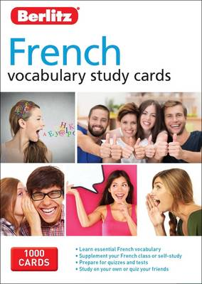 Berlitz Language: French Vocabulary Study Cards by APA Publications Limited