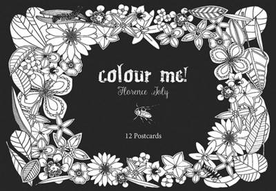 Colour Me Postcards by Florence Joly