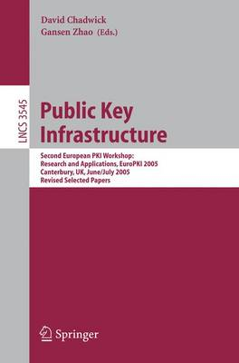 Public Key Infrastructure by David Chadwick