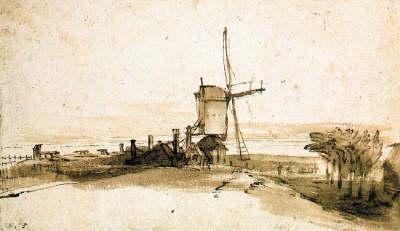Rembrandt's Landscapes by Boudewijn Bakker