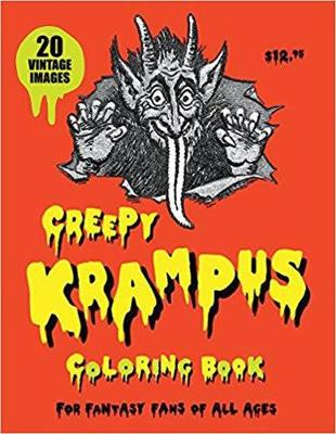 Creepy Krampus Coloring Book by Monte Beauchamp