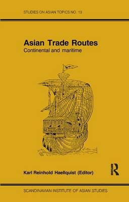 Asian Trade Routes by Haellquist