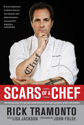 Scars of a Chef book