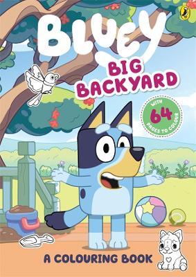 Bluey: Big Backyard: A Colouring Book book