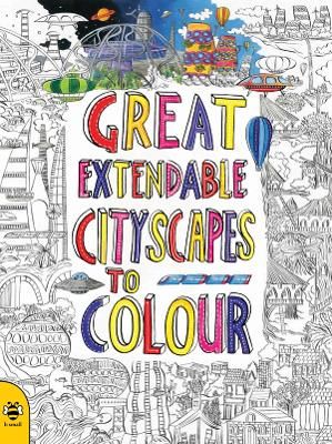 Great Extendable Cityscapes to Colour by Sam Hutchinson