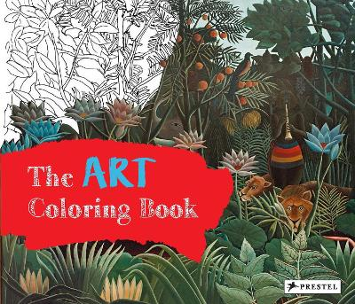 The Art Colouring Book by Annette Roeder