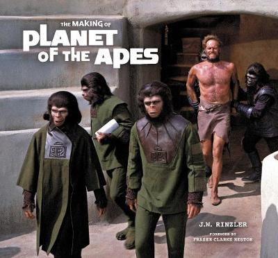 The Making of Planet of the Apes book