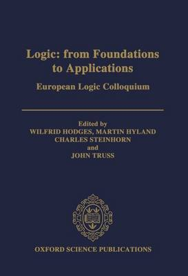 Logic: From Foundations to Applications by Wilfrid Hodges
