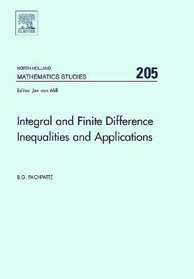 Integral and Finite Difference Inequalities and Applications book