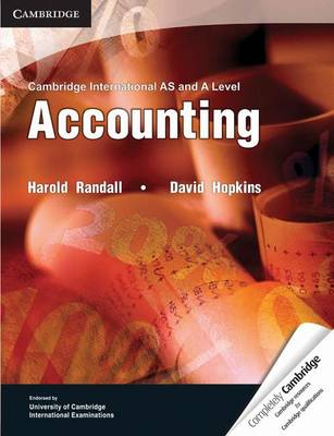 Cambridge International AS and A Level Accounting Textbook book