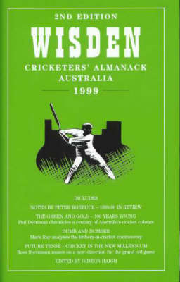 Wisden Cricketers' Almanack Australia by Gideon Haigh