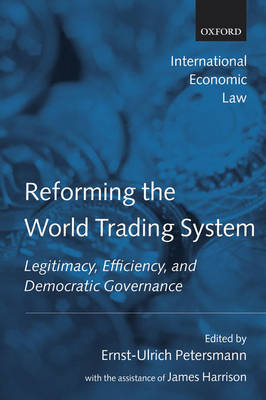 Reforming the World Trading System book
