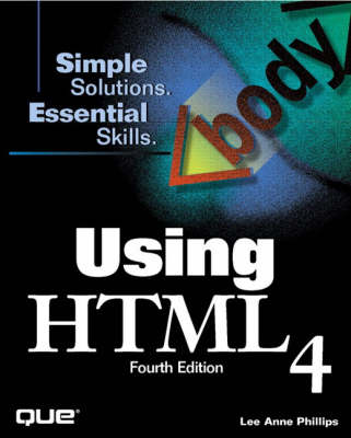Using HTML 4.0 by Lee Ann Phillips