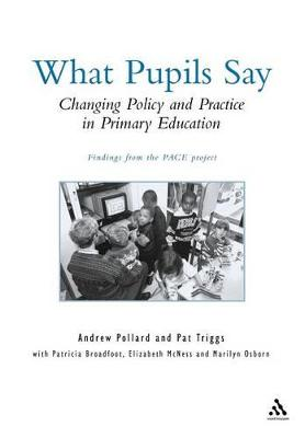 Policy, Practice and Pupil Experience by Professor Andrew Pollard